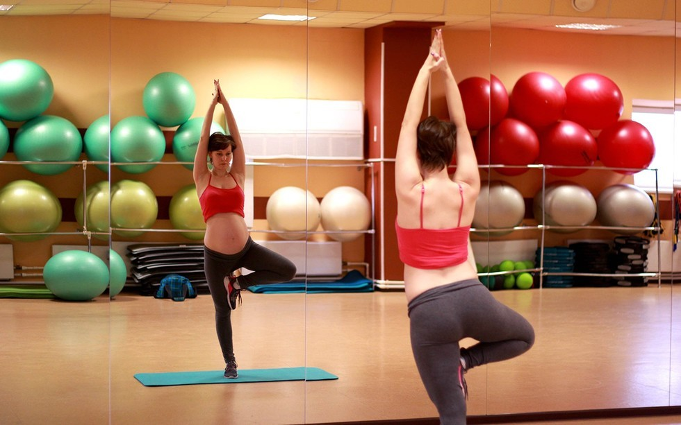 Если беременной заниматься фитнесом