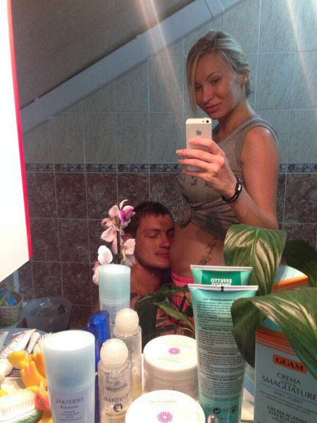 Элина беременная