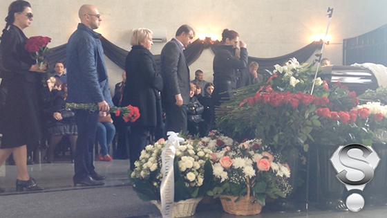 У кого на похоронах была орбакайте