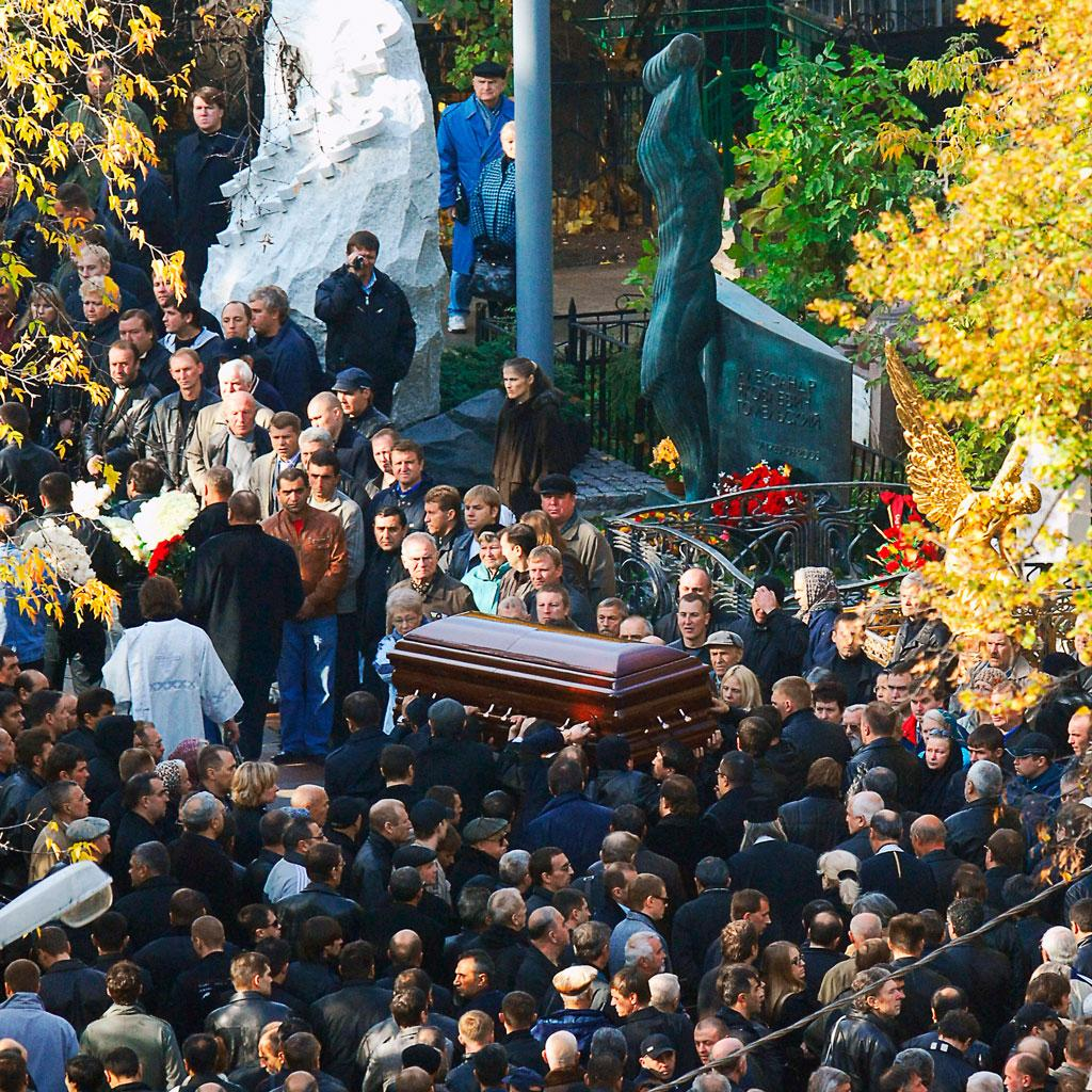 Похороны Япончика. Фото © ТАСС / Валерий Шарифулин