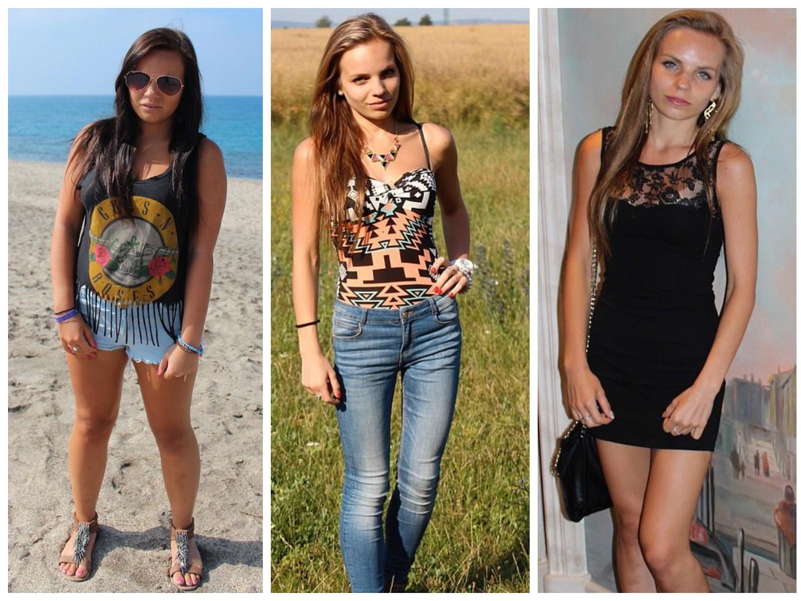 Первое фото — вес Ребеки — 65 кг, второе и третье — 40 кг. Фото © MDWFeatures/Rebeka Tunegova