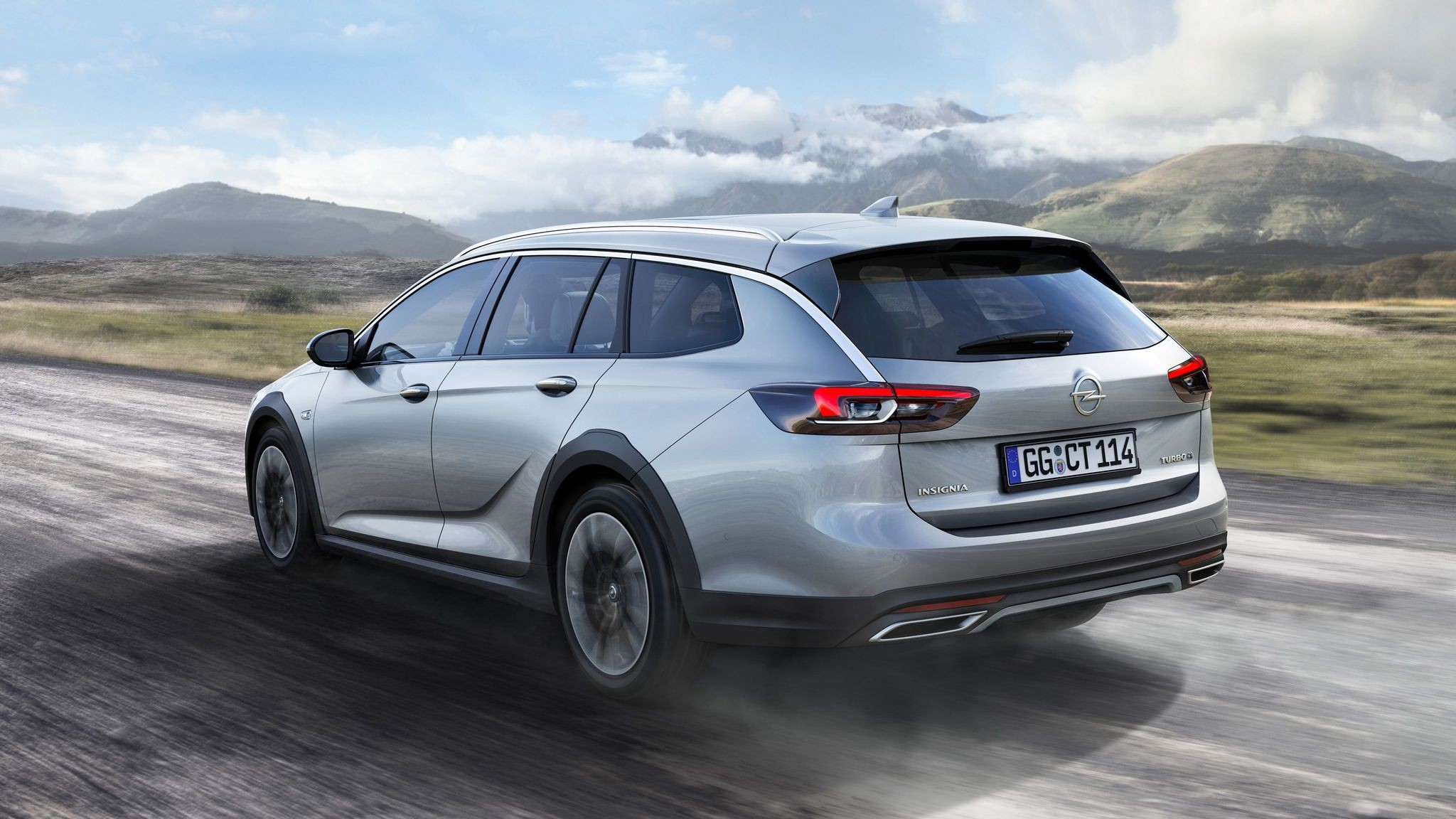 Opel Insignia Country Tourer. Фото: © Opel