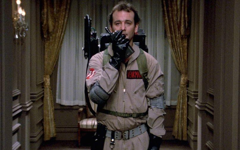 "Кадр из х/ф ""Охотники за привидениями"", 1984, реж. А. Райтман. Фото © Consequence of Sound"