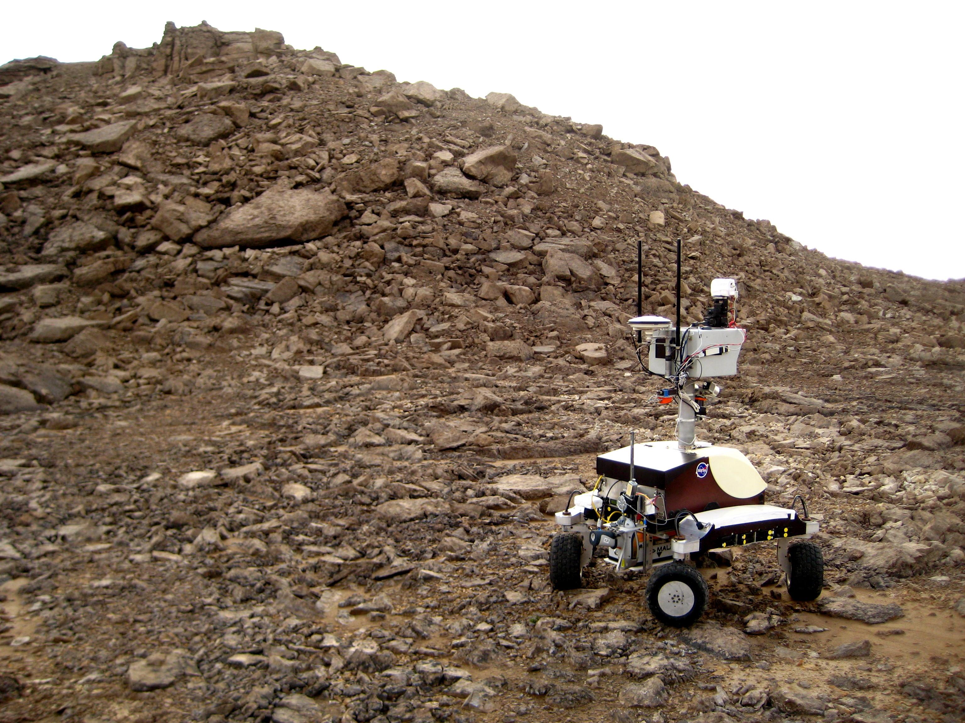 Фото © NASA / Mars Institute / Haughton-Mars Project