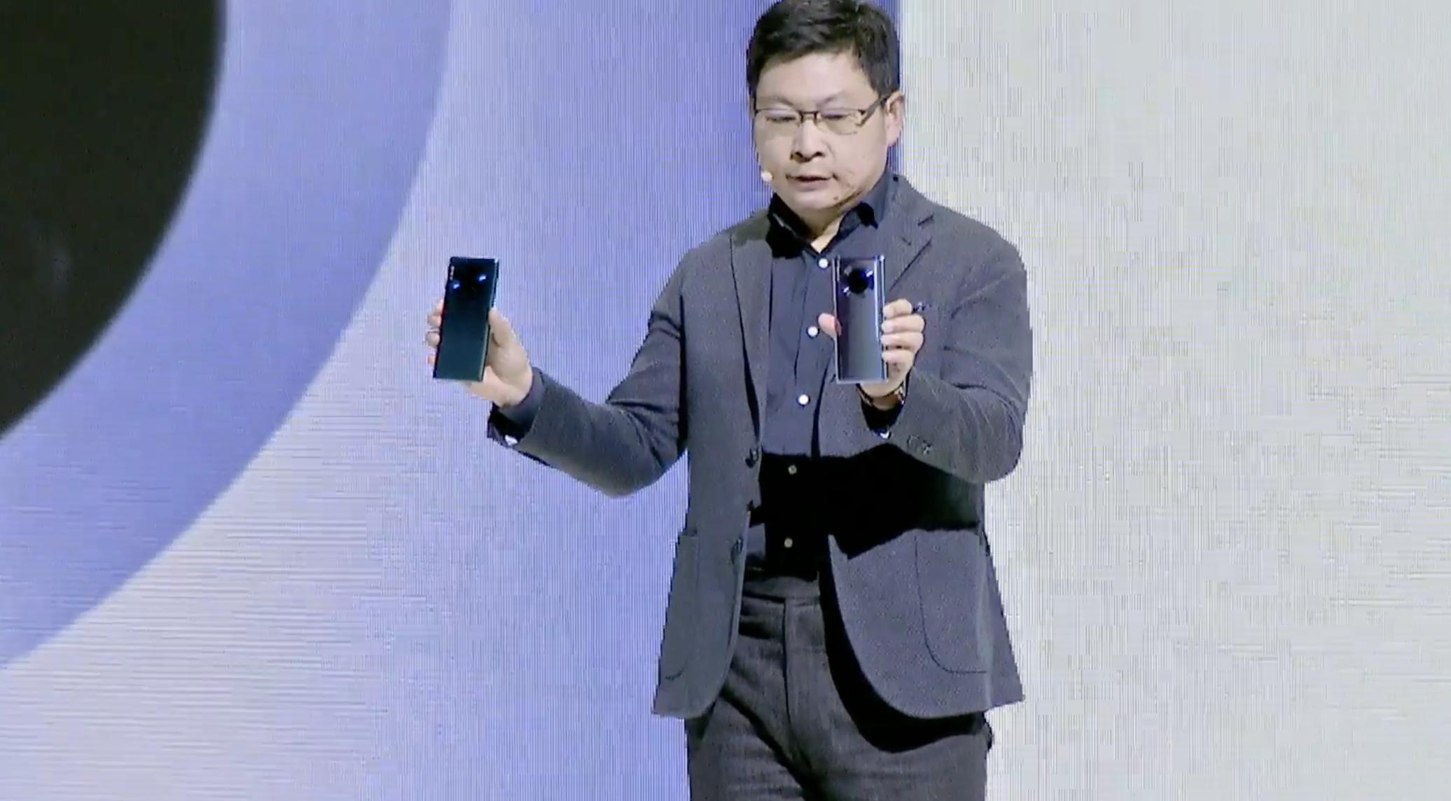Кадр из видео YouTube / Huawei Mobile