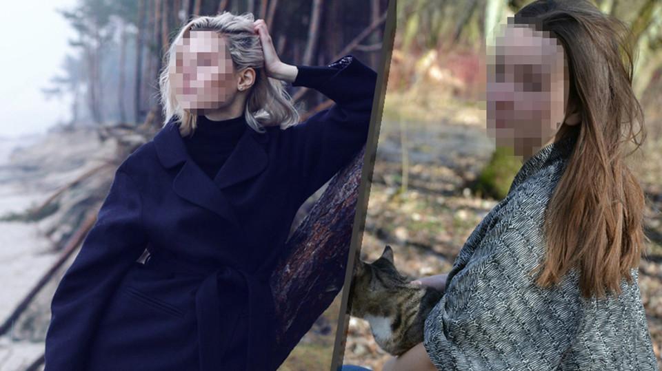 Модель Дарья и староста Елена А. Фото: соцсети