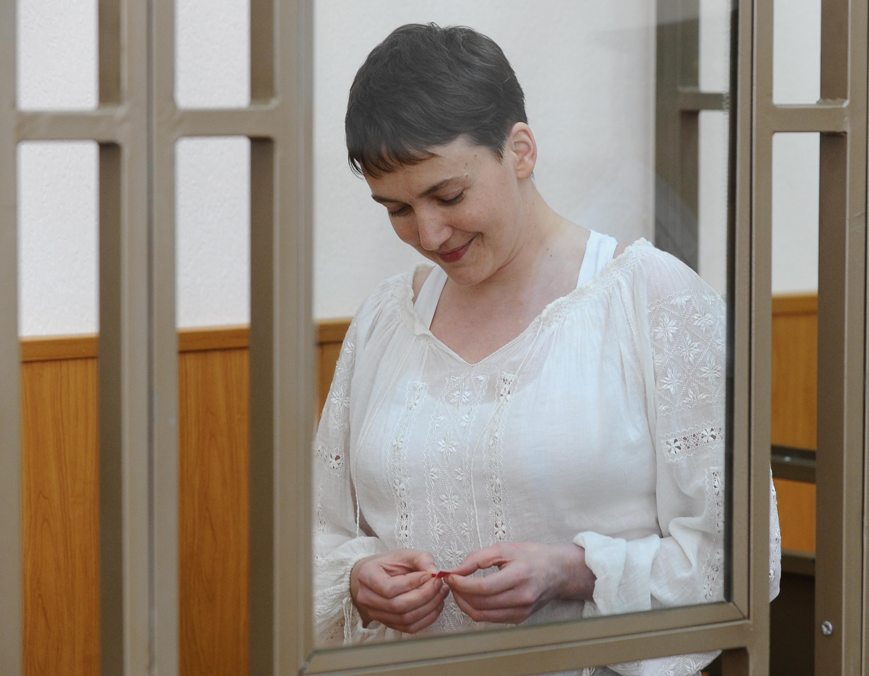 Надежда Савченко в сентябре 2015 года. Фото: © РИА Новости / Сергей Пивоваров