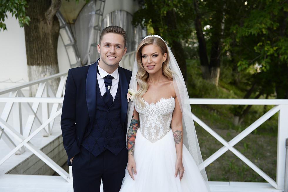 Свадьба Соколовского и Дакоты Фото: L!FE