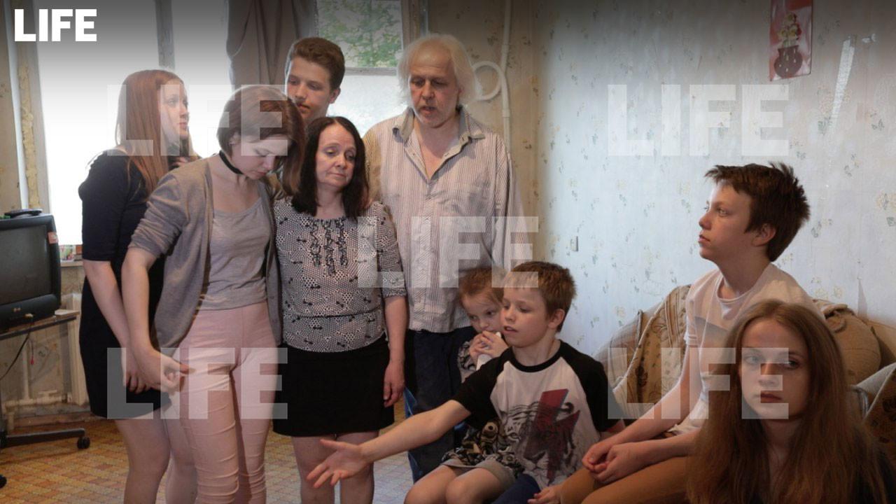 Семья Люлькевичей. Фото © L!FE