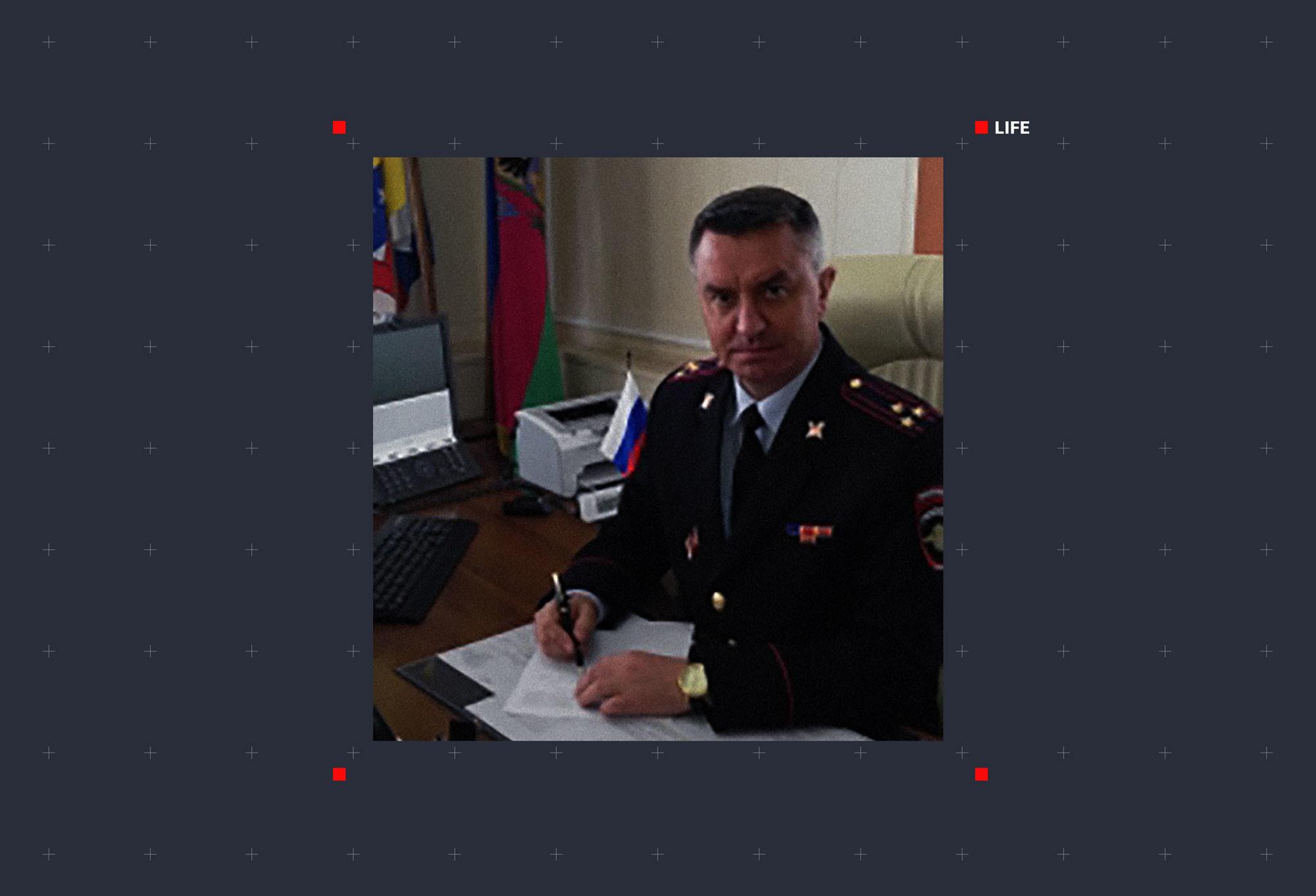 Полковник Сергей Сорокоумов. Фото © Официальный сайт Министерства внутренних дел Российской Федерации