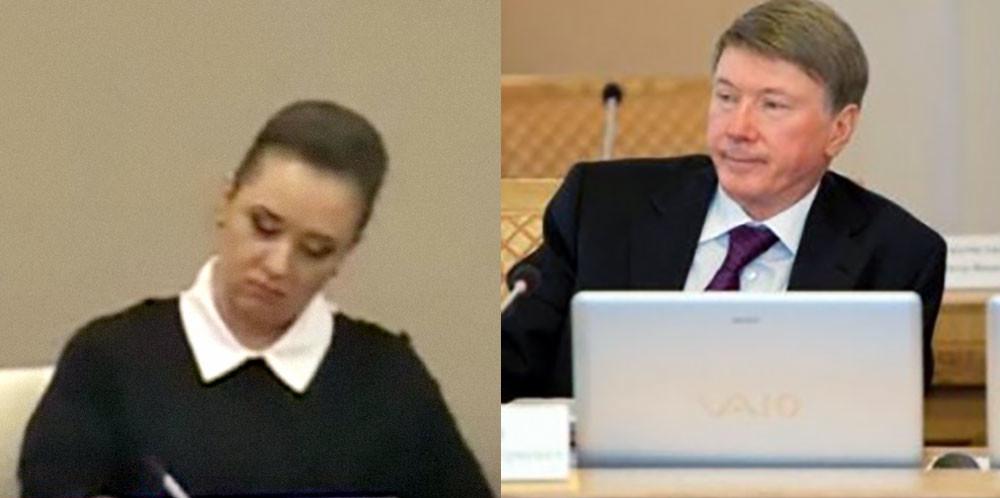 Наталья Хахалева и Александр Чернов. Фото © судьироссии.рф
