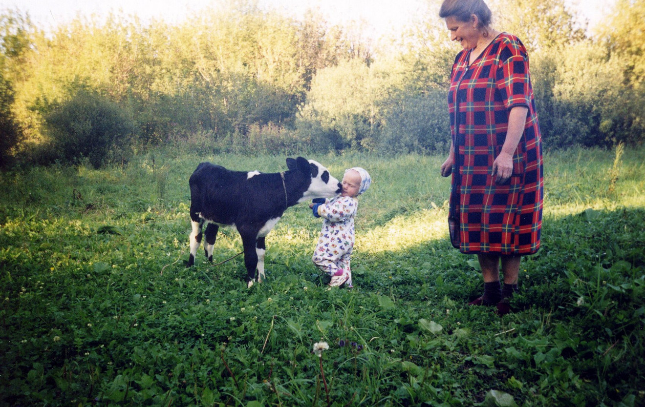 Марийка в детстве. Фото © East 2 West News
