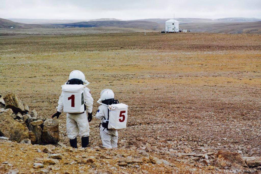 Фото © Flashline Mars Arctic Research Station