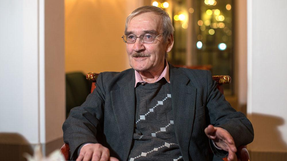Станислав Петров стал лауреатом Дрезденской премии мира в 2013 году. Фото © TASS / EPA / OLIVER KILLIG