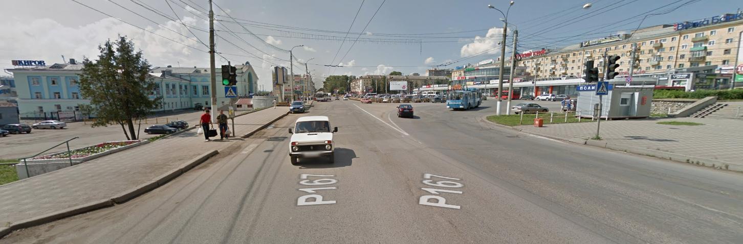 Тот самый переход. Фото © GoogleMaps