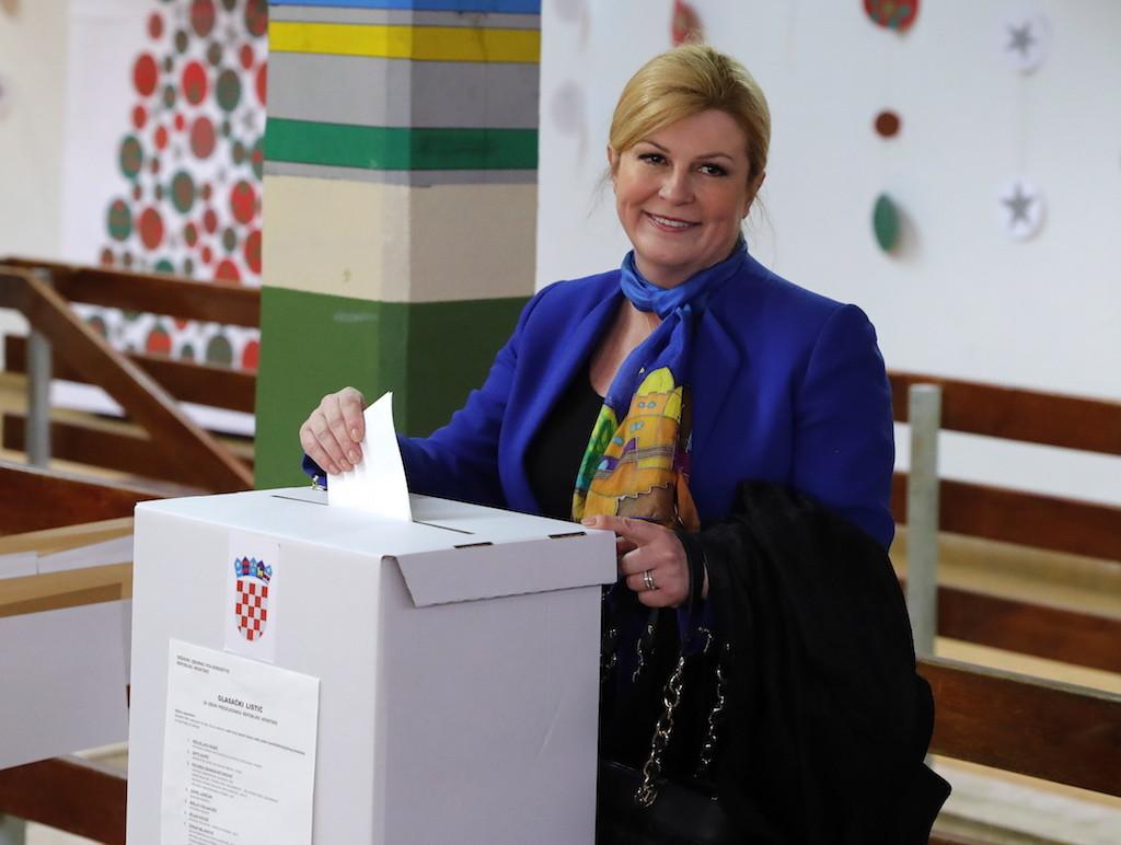 Колинда Грабар-Китарович. Фото © ТАСС / ЕРА / ANTONIO BAT