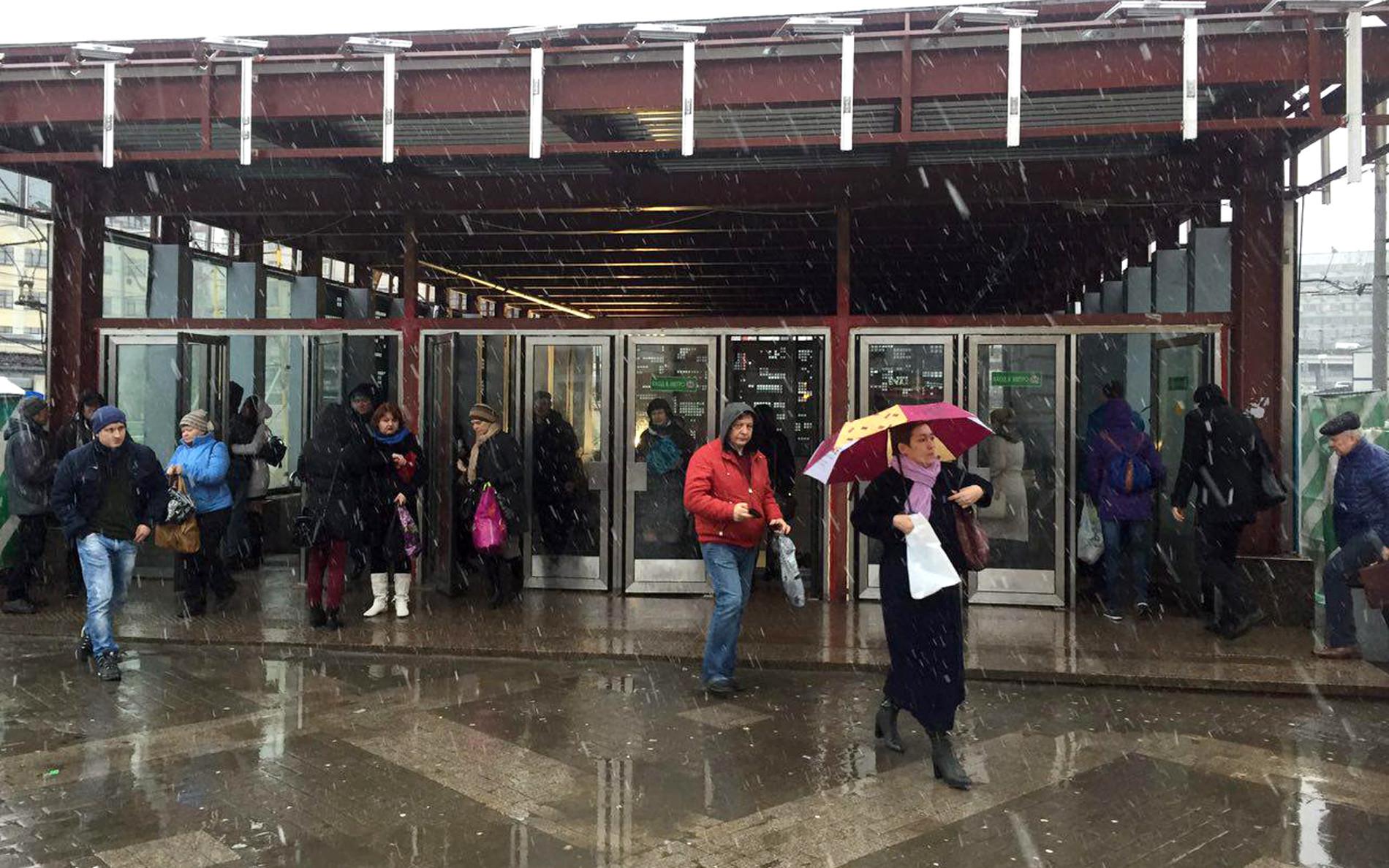 """Станция метро """"Савёловская"""". Фото: © L!FE"""