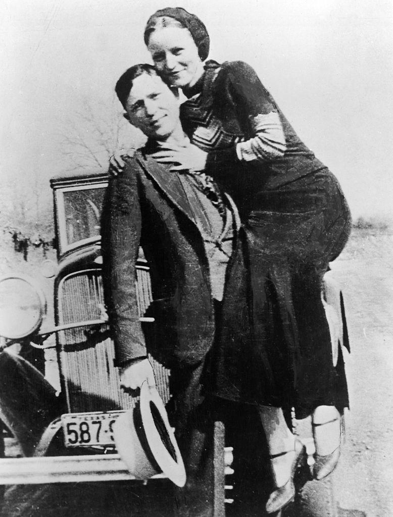 Бонни и Клайд. Фото © Hulton Archive / Getty Images