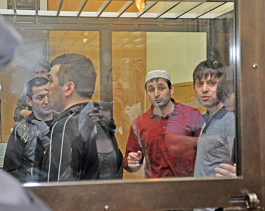 Картоевы в суде. Фото © ТАСС / Солодков Александр