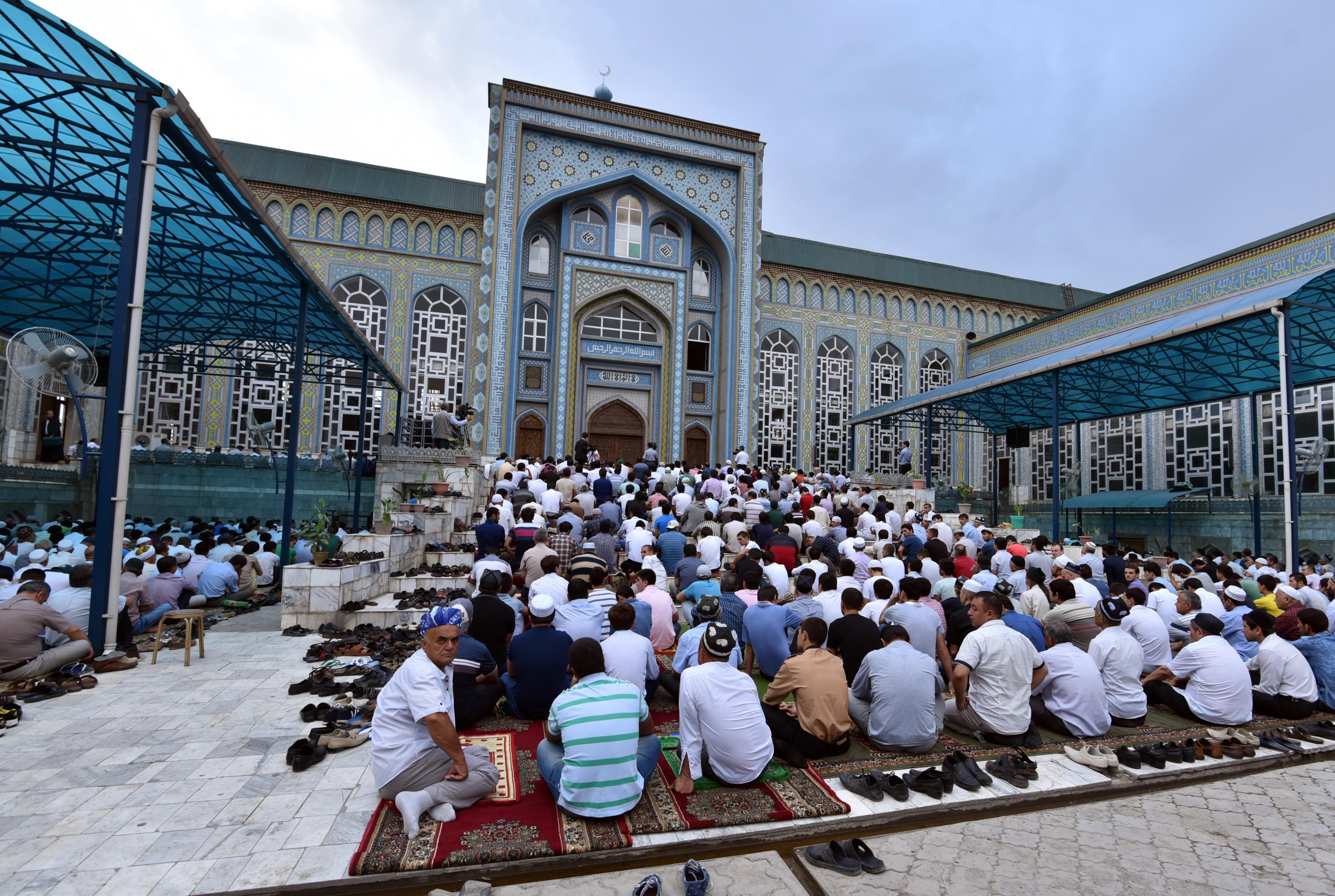 Празднование окончания Рамадана. Фото: РИА Новости / Амир Исаев