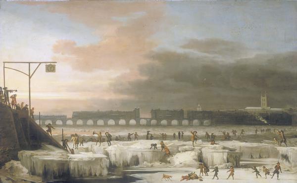 """""""Замёрзшая Темза"""", картина Абрахама Хондиуса. Фото © Wikipedia"""