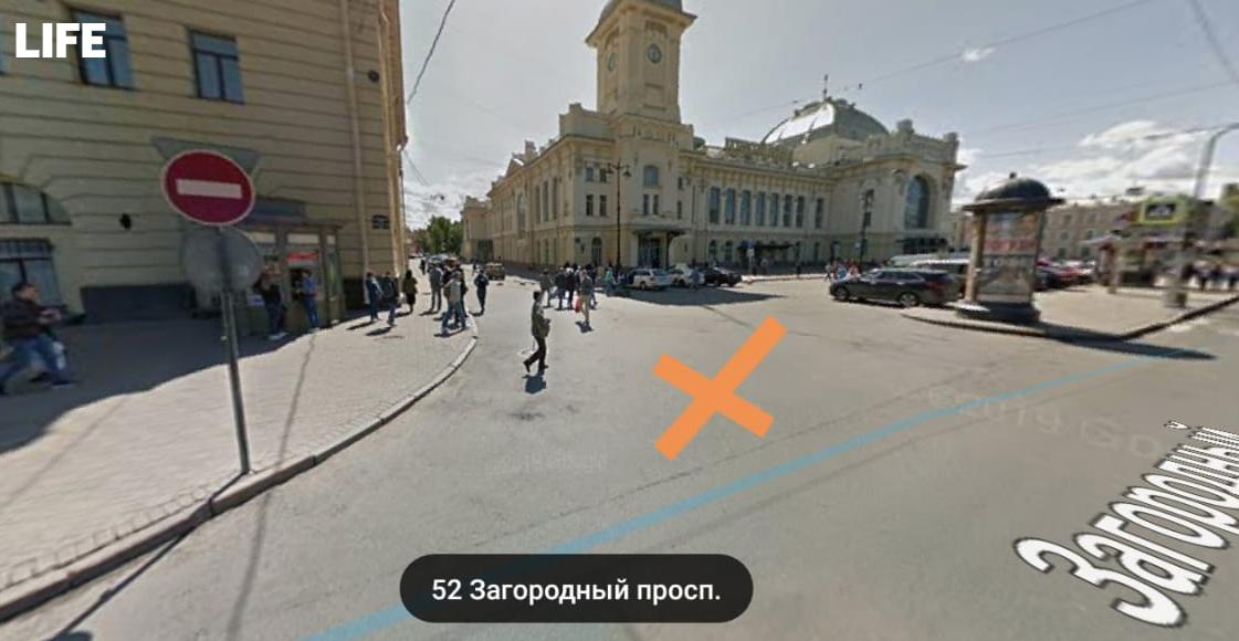Место ДТП Скриншот © Google Maps