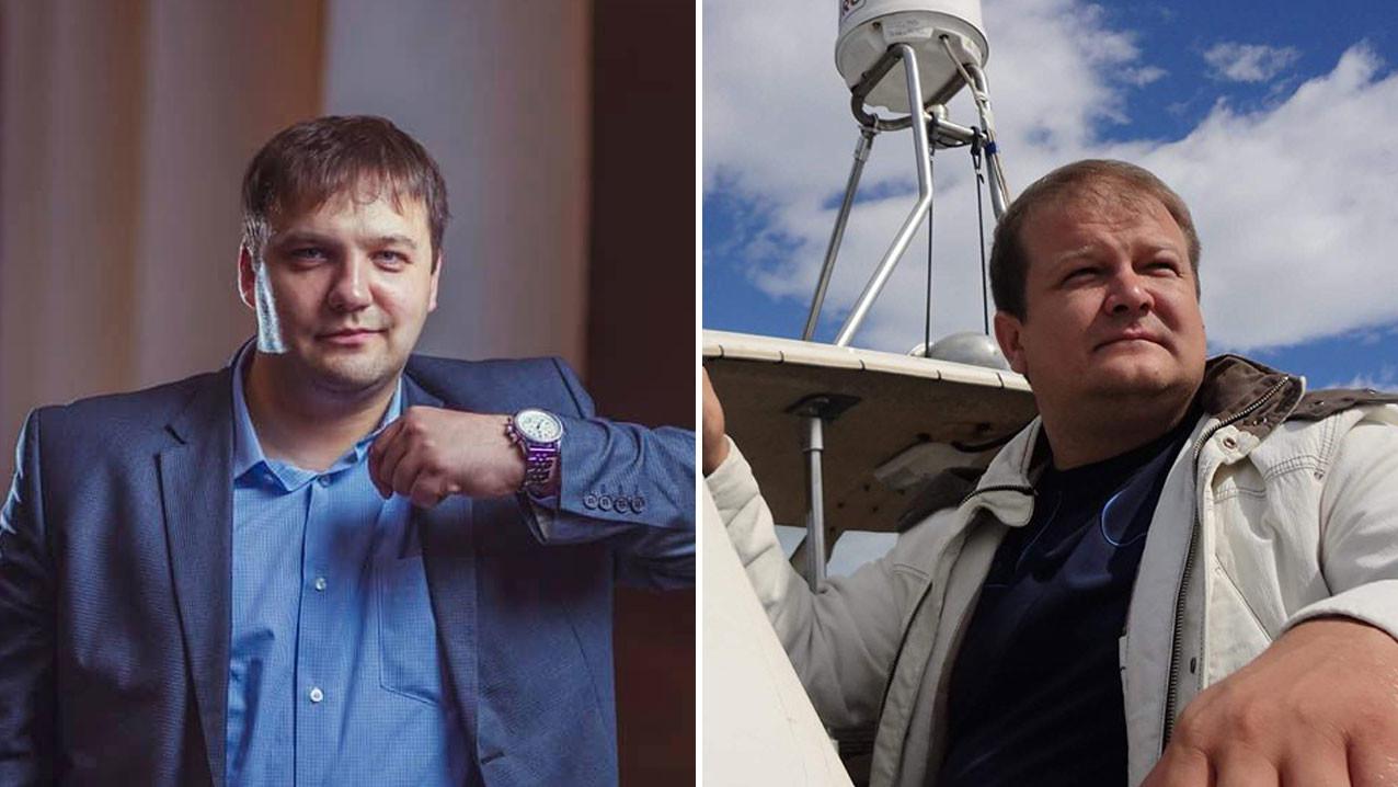 Юрий Безденежных (слева) и Сергей Безденежных (справа). Фото © Facebook / Юрий Безденежных, © Facebook / Сергей Безденежных