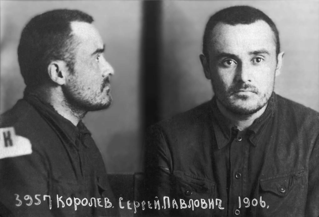 С.П. Королёв через 18 месяцев заключения, 29 февраля 1940 г. Фото © wikipedia