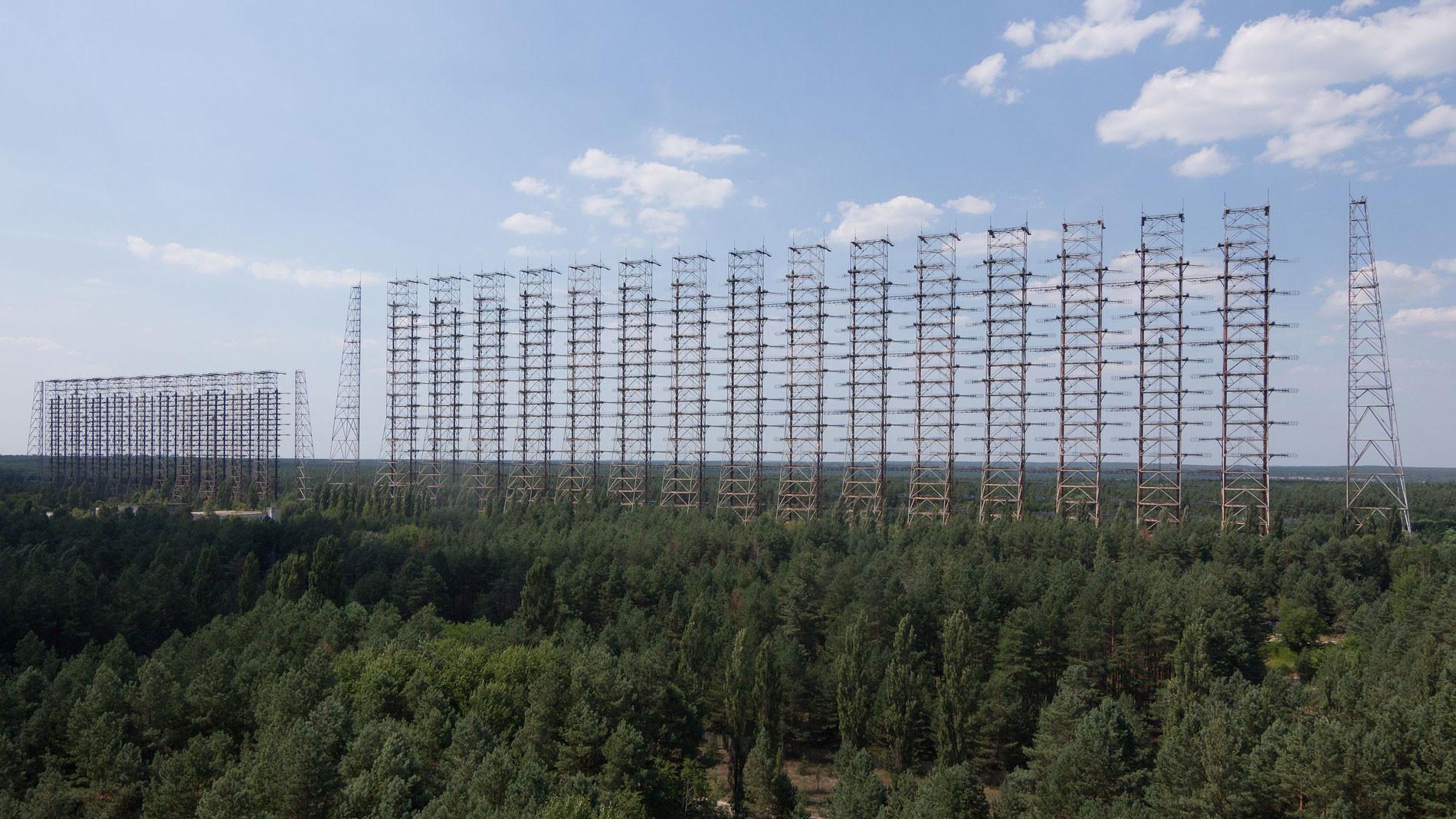 Дуга (радиолокационная станция) Фото © Wikipedia