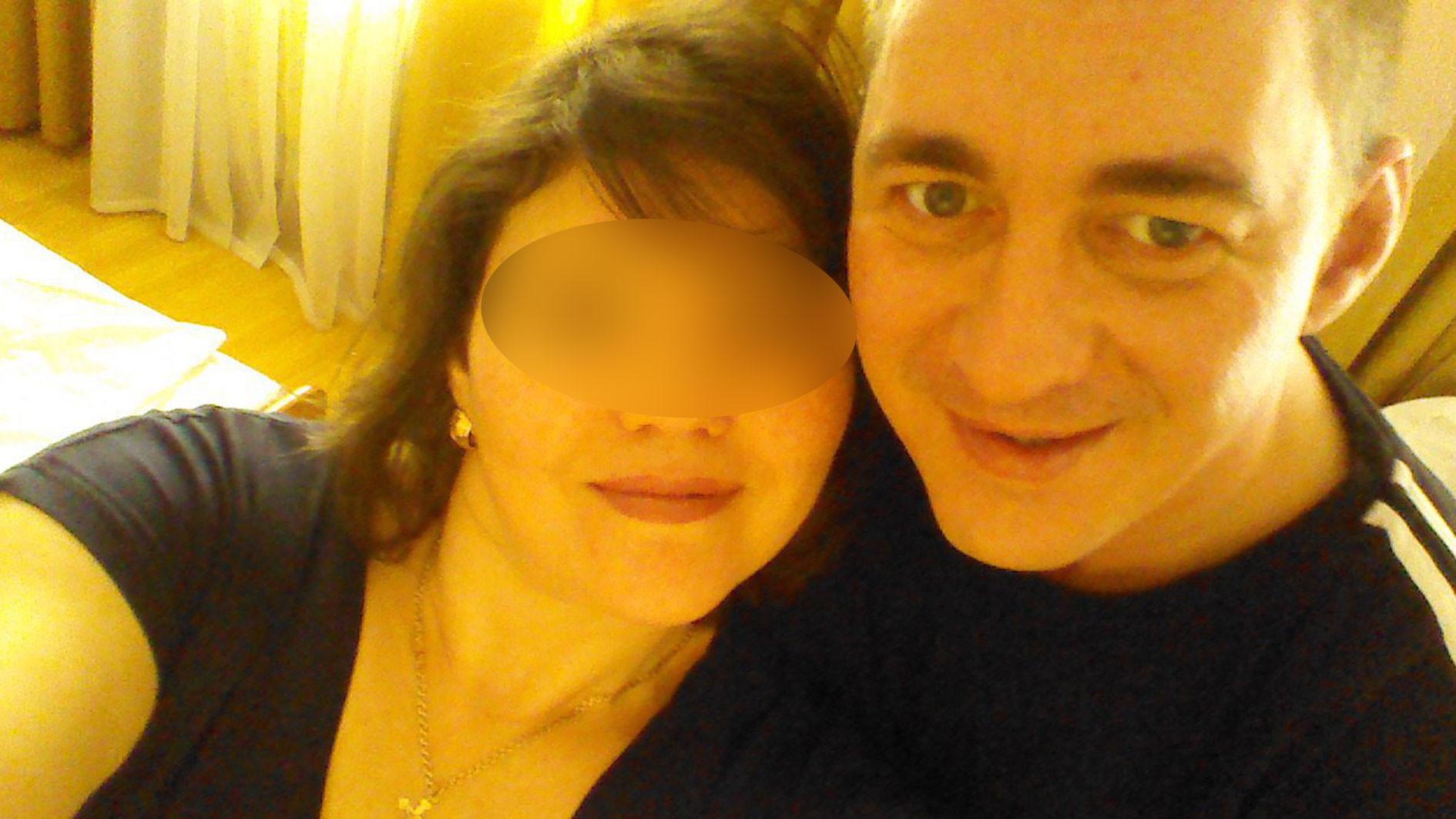 Дмитрий с женой. Фото: соцсети