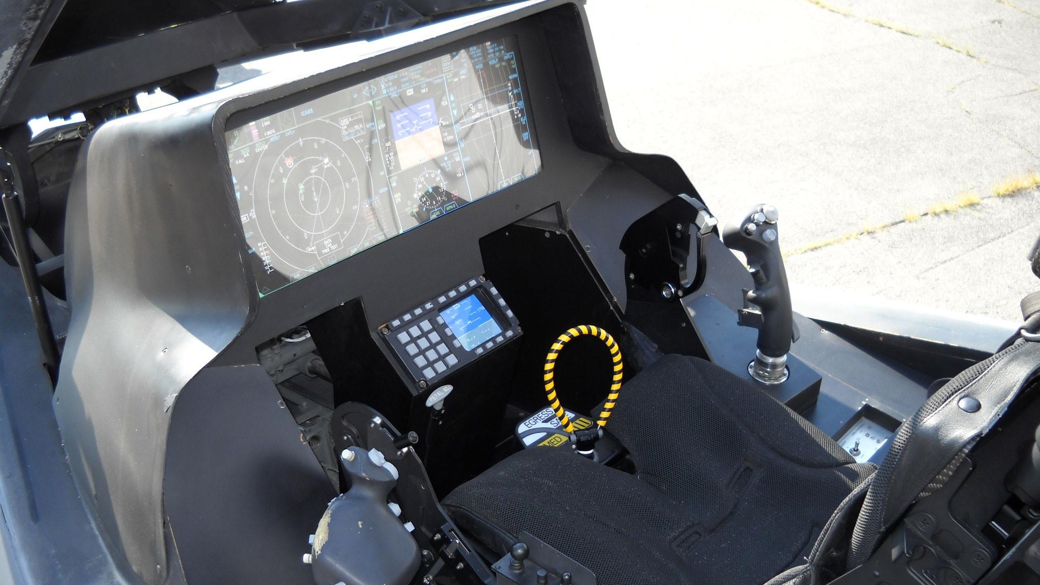 Стеклянная кабина пилота F-35. Фото © Wikipedia