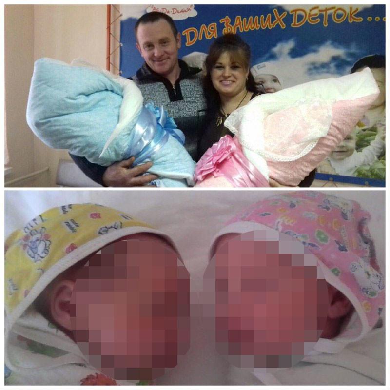 Сергей и Анастасия Агафоновы и их дети — Даниил и Таисия. Фото из архива семьи Агафоновых
