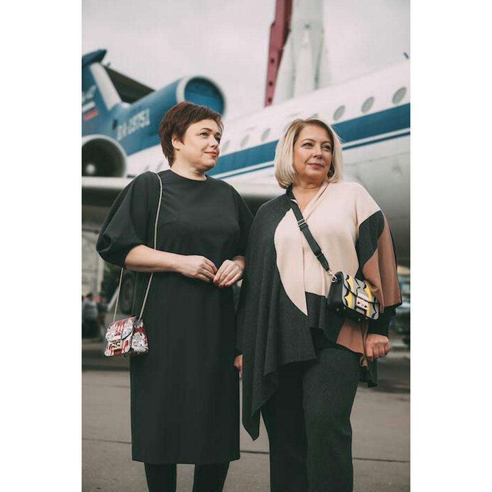 Евгения Магурина (слева) и Ирина Иерусалимская. Фото © Facebook / Евгения Магурина