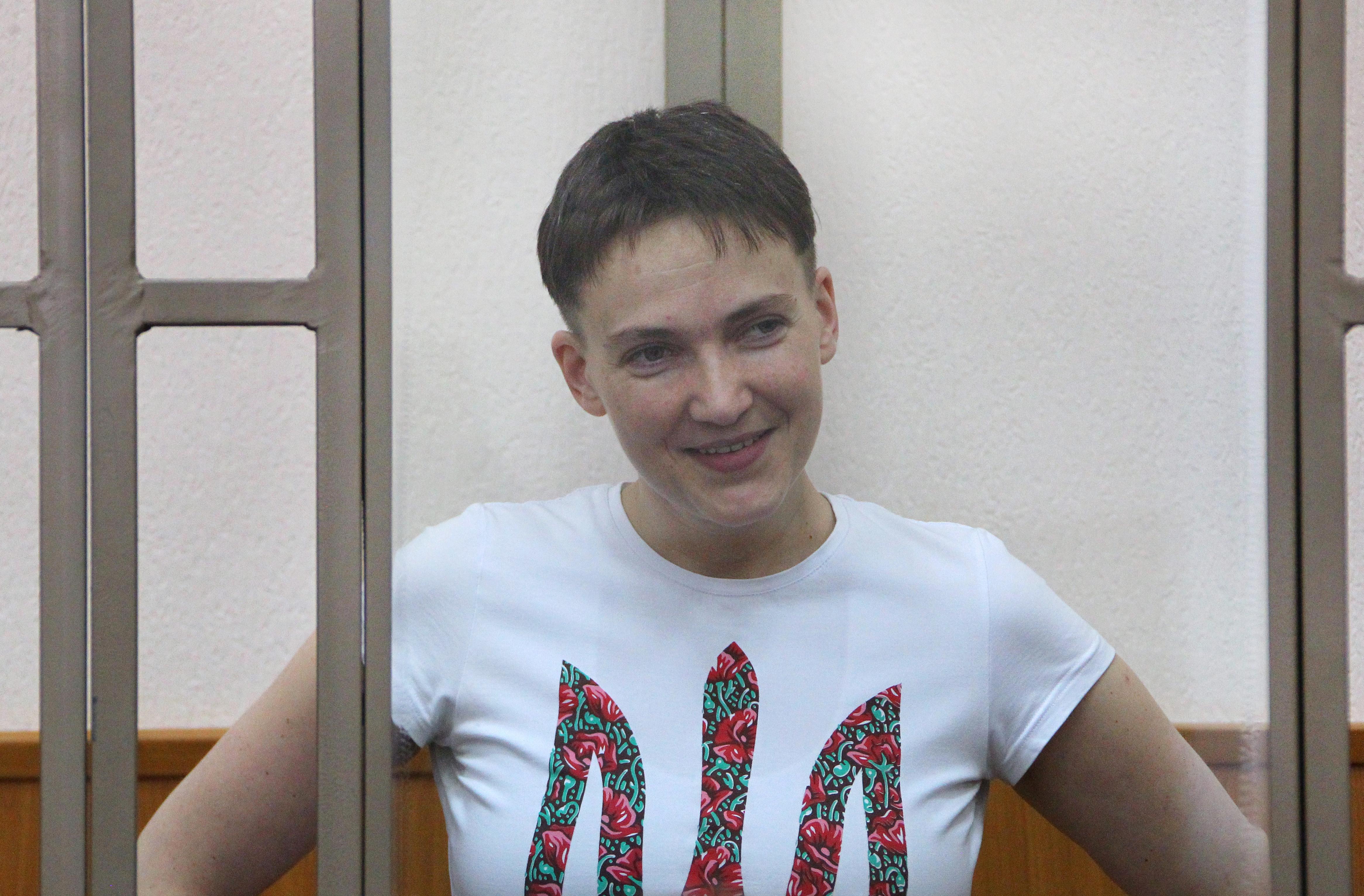 Надежда Савченко в феврале 2016 года. Фото: © РИА Новости / Федор Ларин