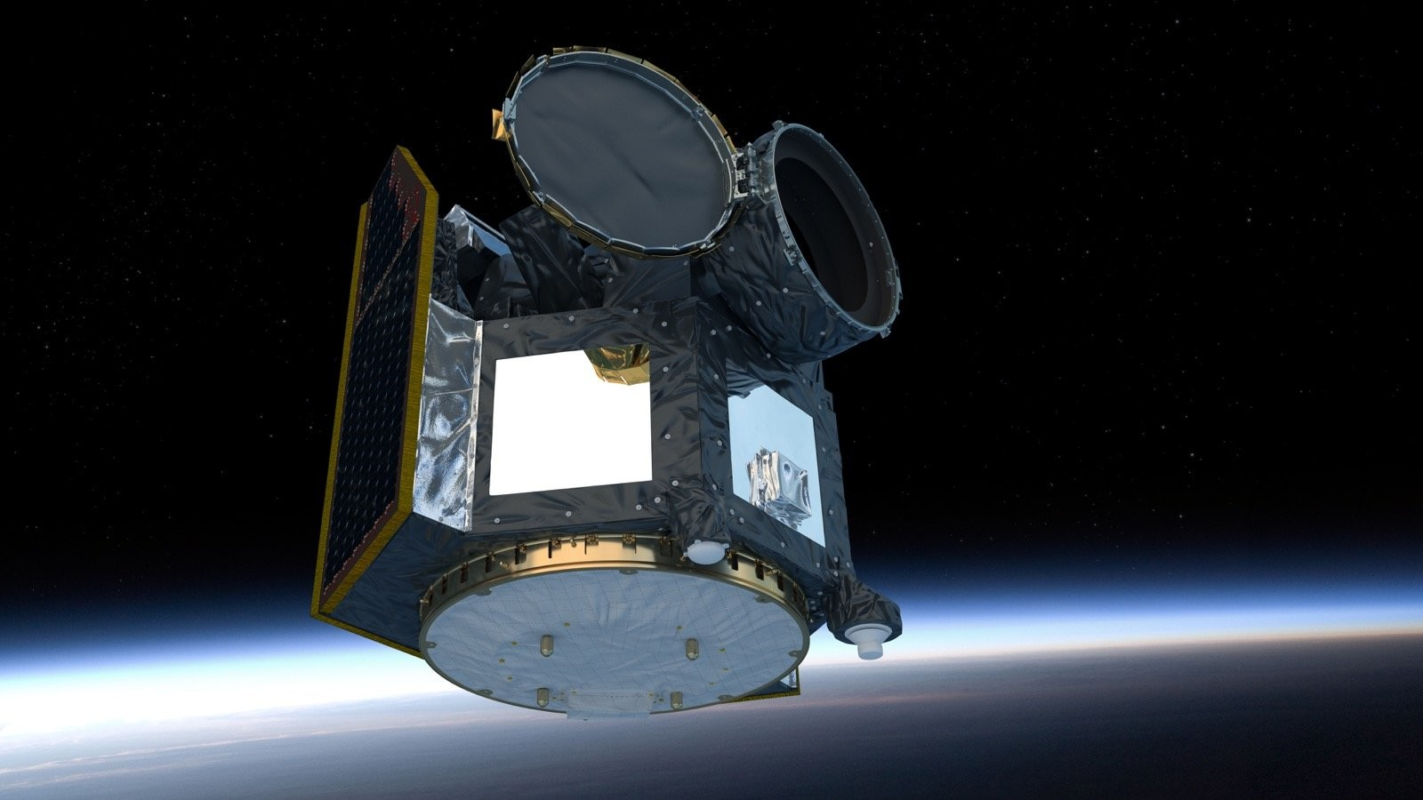 Космическая обсерватория CHEOPS. Фото © Европейское космическое агентство