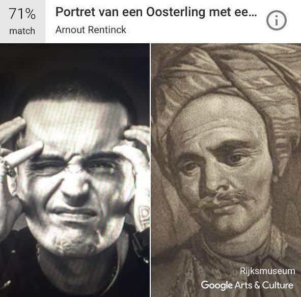 Скриншот приложения Google Arts & Culture