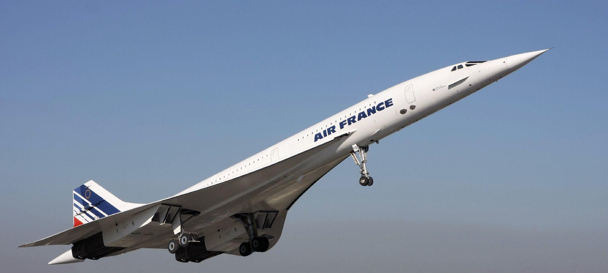 Сверхзвуковой самолёт Concorde. Фото © Flickr/astrohans