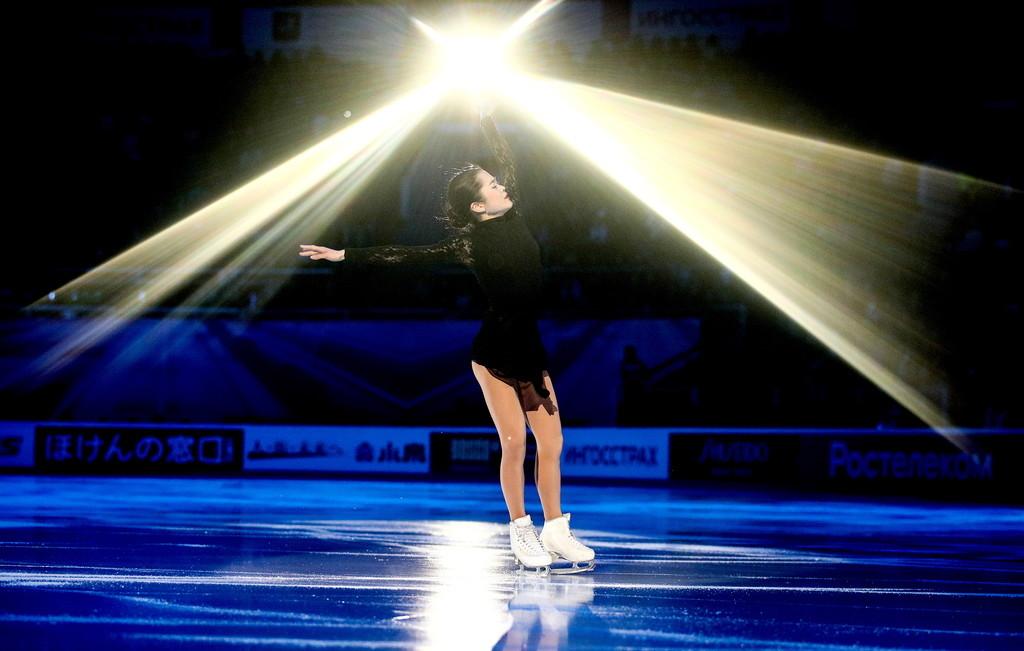 Четвёртого места в Москве Мияхаре может хватить для выхода в финал Гран-при. Фото © ТАСС / Сергей Бобылев