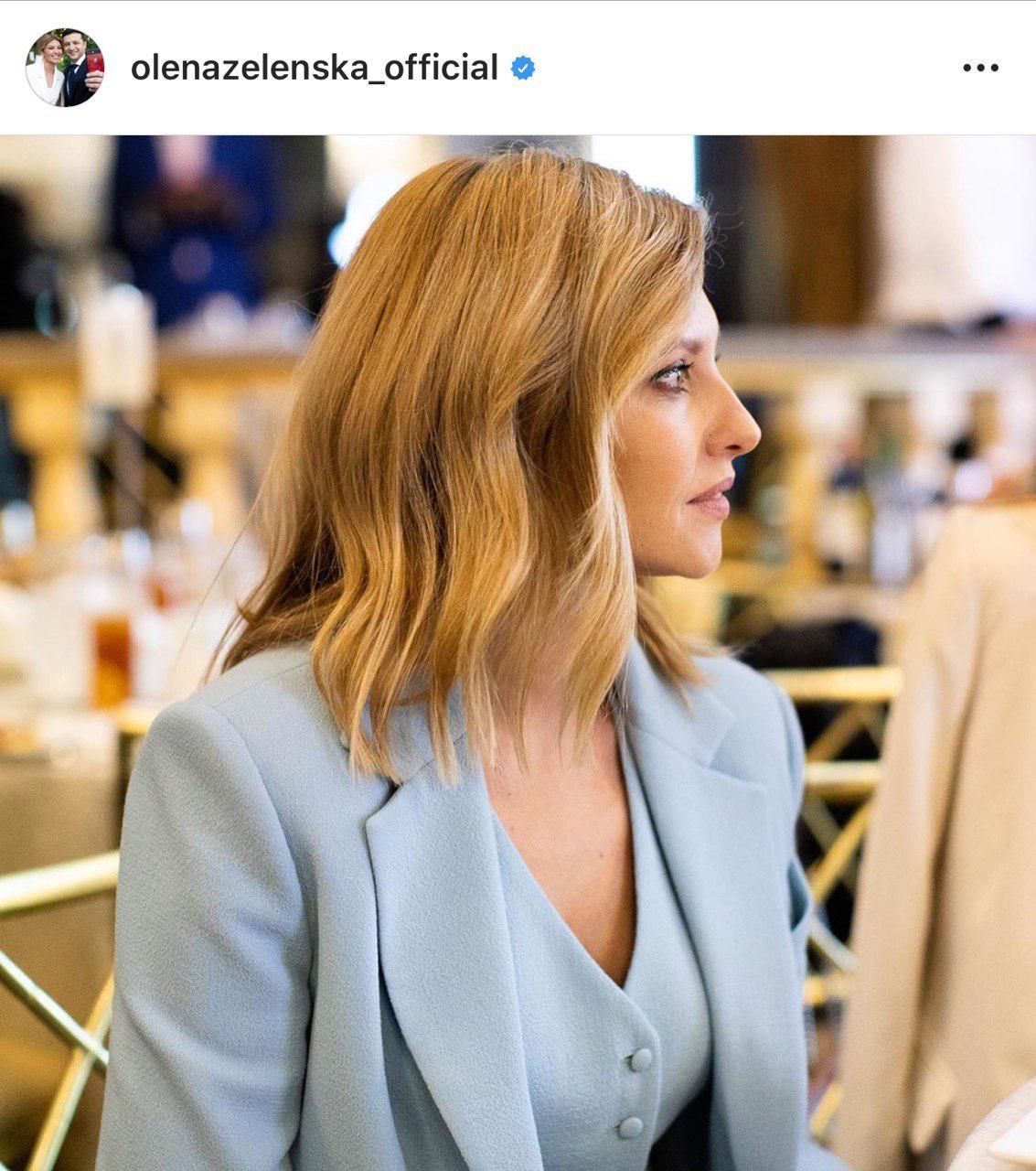 Фото © instagram/olenazelenska_official