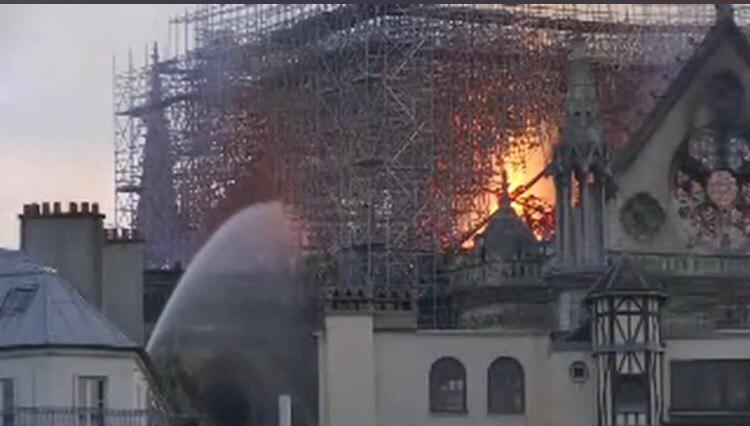 Фото: Кадр из видео, снятого очевидцами