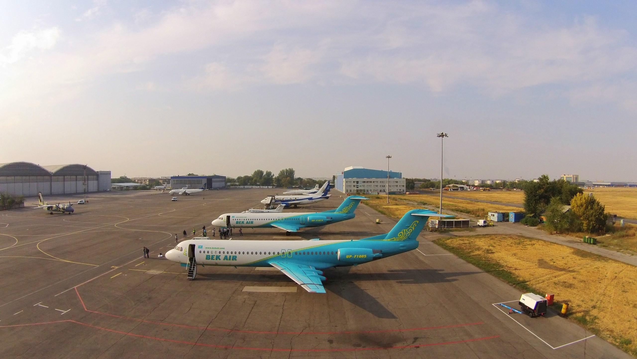 Фото © Авиакомпания Bek Air