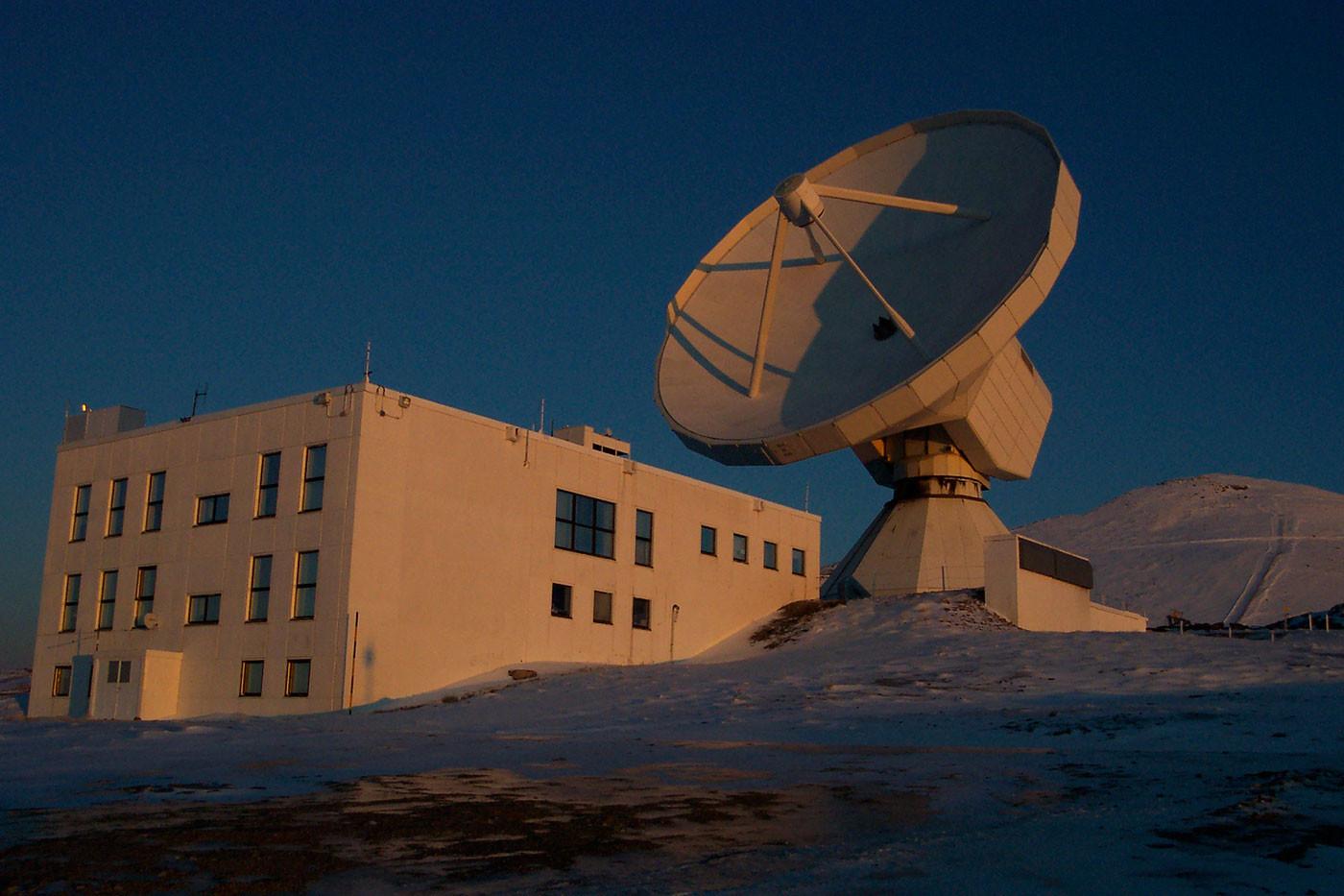 Телескоп IRAM.