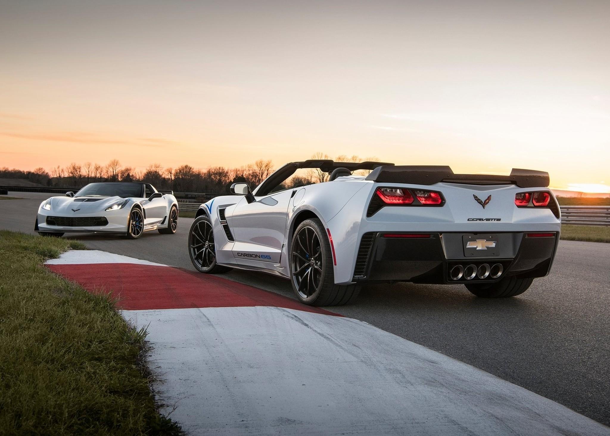 Chevrolet Corvette Carbon 65 Edition. Фото: © Chevrolet