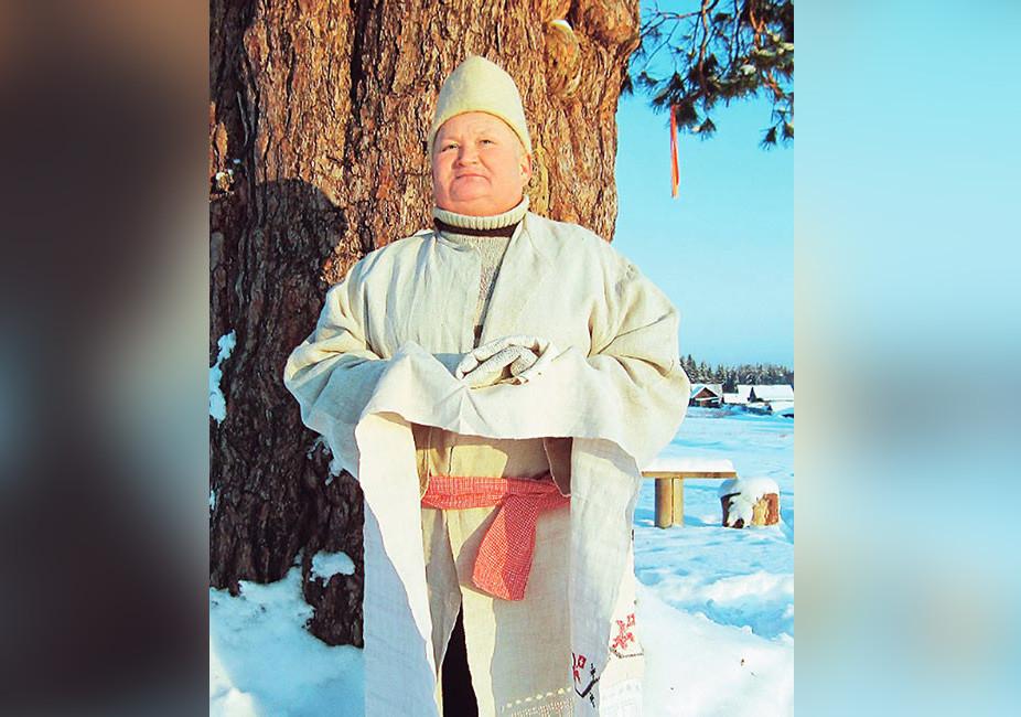 """Василий Тратканов — один из главных хранителей традиций туно. Фото © Журнал """"Кенеш"""""""