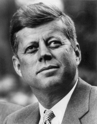 Джон Ф. Кеннеди. Фото © Wikipedia