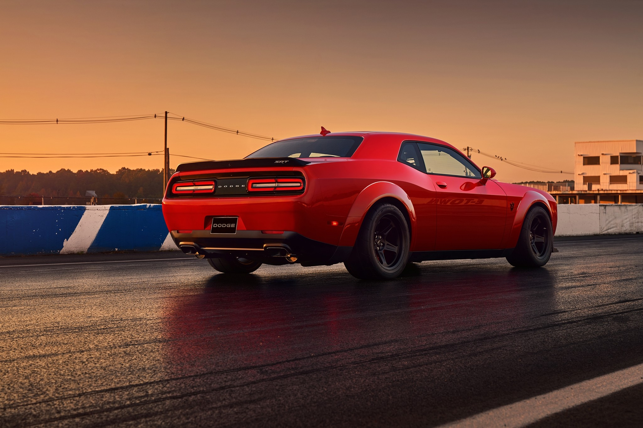 Dodge Challenger SRT Demon. Фото: © Dodge