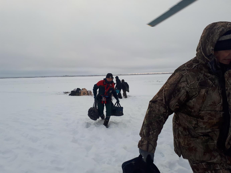 Фото © Служба спасения Якутии