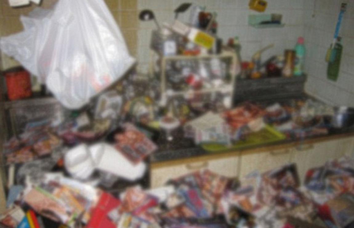 Кухня погибшего / Фото: dailymail.co.uk