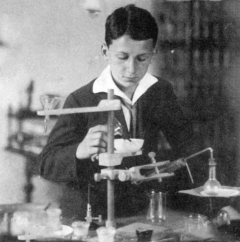 Тесла в детстве. Фото © Интересные факты