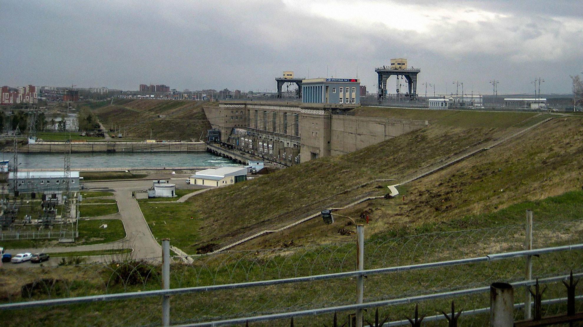 Иркутская ГЭС. Фото © Wikipedia